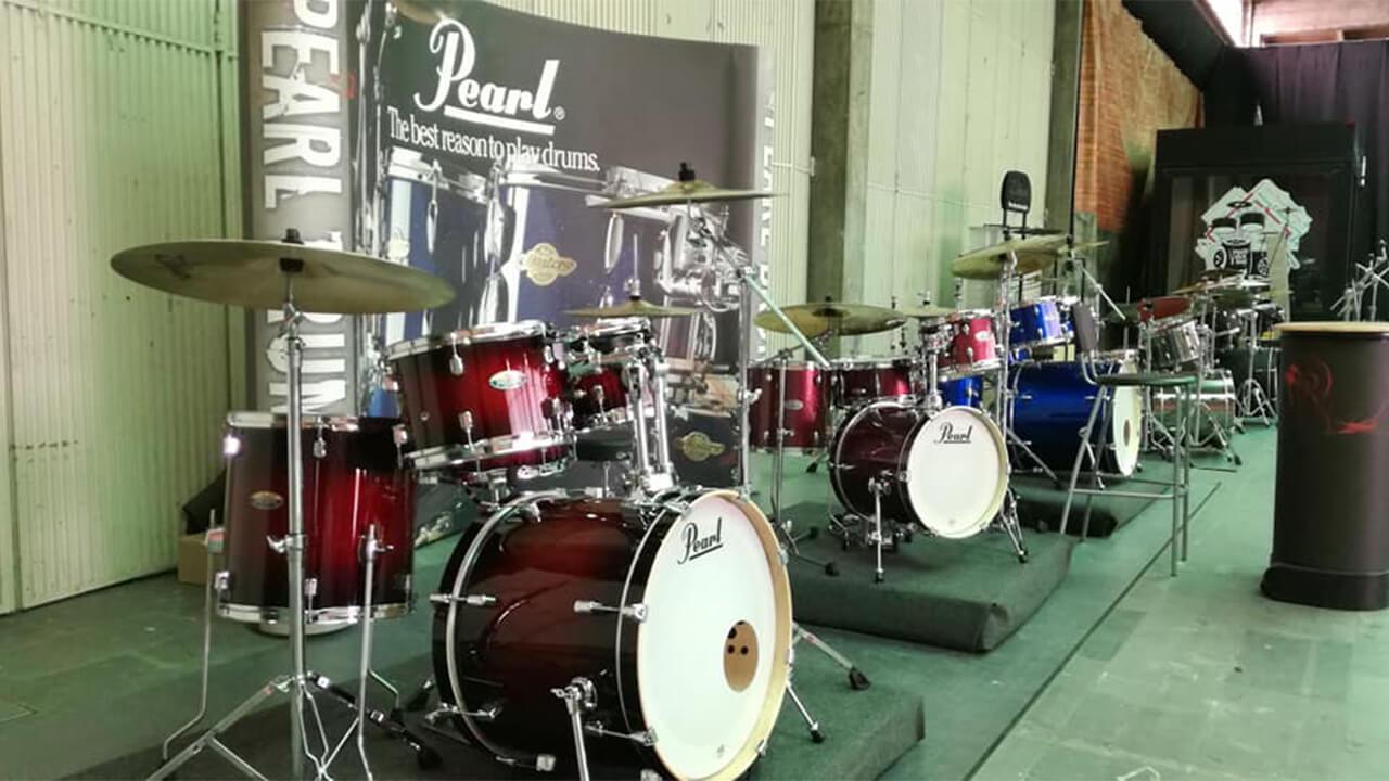 A Caius e a Pearl Drums Europe no PORTO DRUM SHOW 2019!